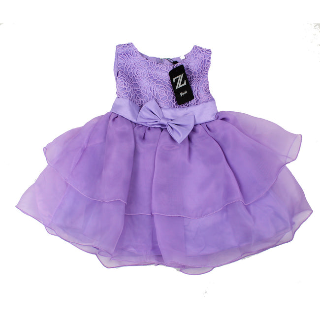 Zighi Baby Girl Special Occasion Dress Lilac