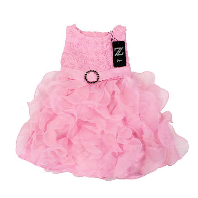 Zighi Baby Girl Special Occasion Dress Pink