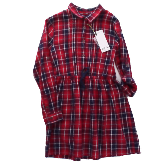 DEX Tween Youth Girls Flannel Shirt Dress