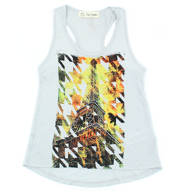 THE CLASSIC Little Girl Grey Tank Top