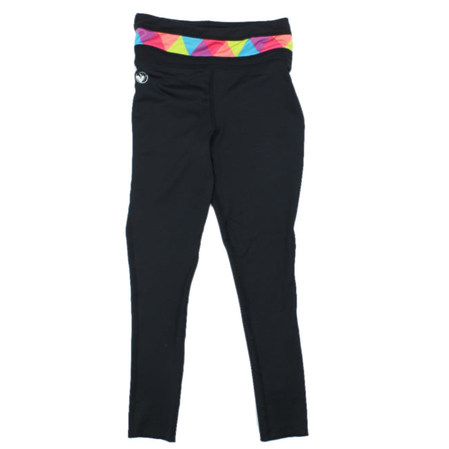 LIMEAPPLE Little Girl Activewear Leggings On The Run