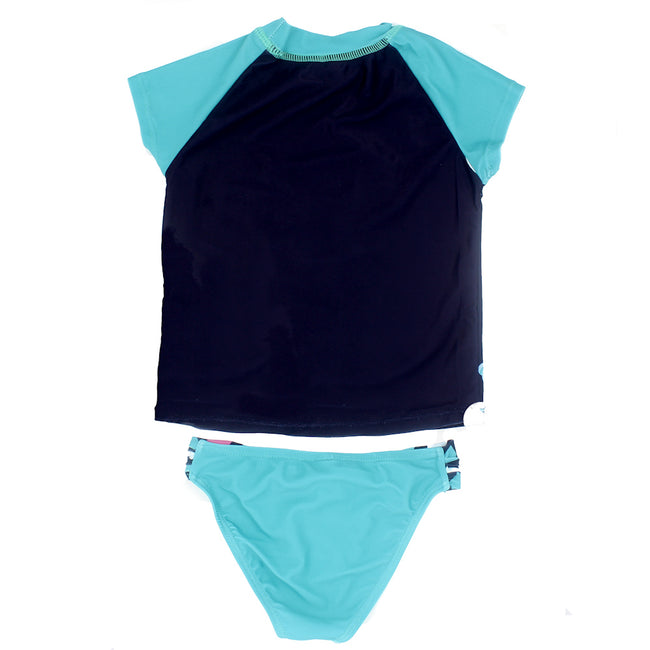 LIMEAPPLE Little Girl 2 Pc Rashguard Swimwear