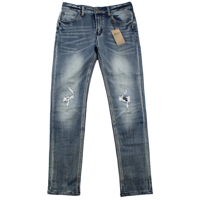 SILVER JEANS Boys Cairo City Skinny Jeans Front