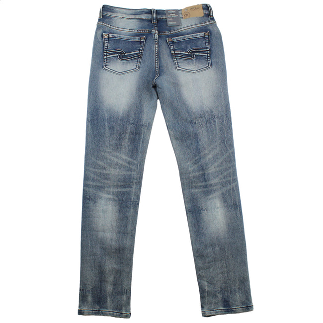 SILVER JEANS Boys Cairo City Skinny Jeans Back