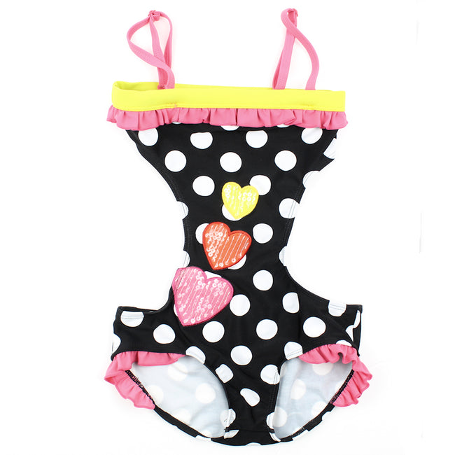 LIMEAPPLE Little Girl One Piece Swimsuit