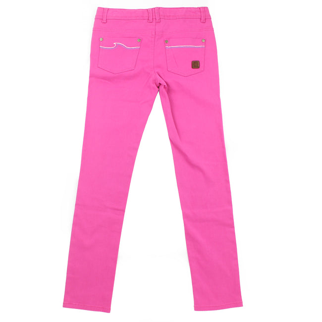 ROXY GIRL Big Girl Pink Jeans (Sz 12, 16)