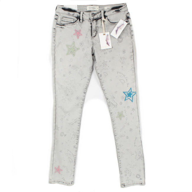Jessica Simpson Girls Grey Jeans