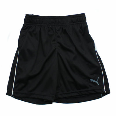 Puma Little Boy or  Girl Athletic Black Shorts (Sz 4)