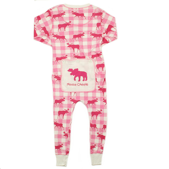 CRAZY BOTTOMS Big Girl Mooze Onsie PJ