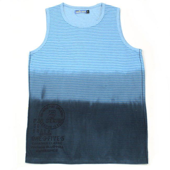 Point Zero Boys Ombre Tee Shirt Blue