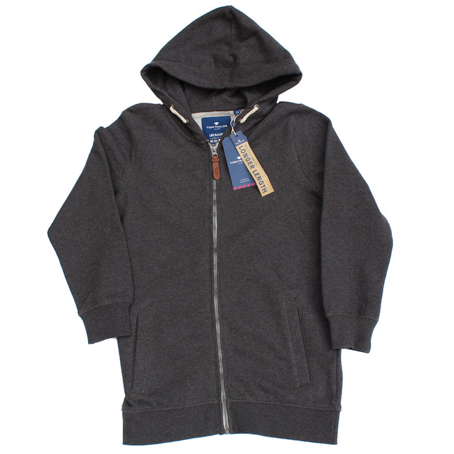 Tom Tailor Boys X-Length Zippered Hoodie