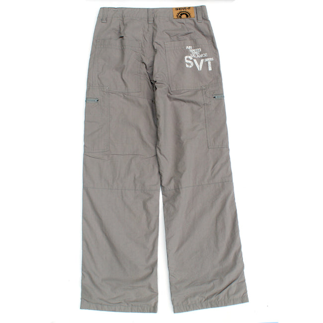SHOVE-IT Big Boy Light Grey Cargo Pants Back