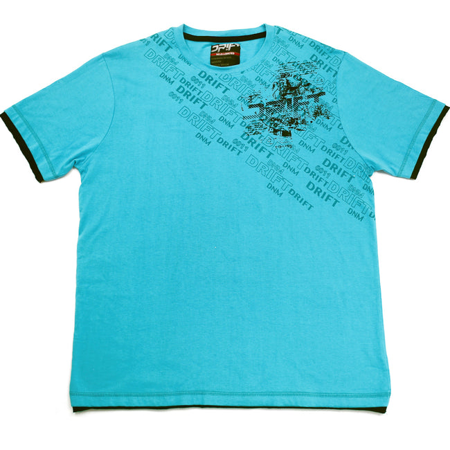 Drift Youth Boys Tween Boys  Short Sleeve Tee Shirt Blue