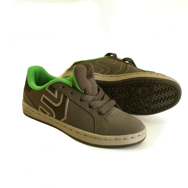 Etnies Kids Boys Athletic Shoes Grey Green