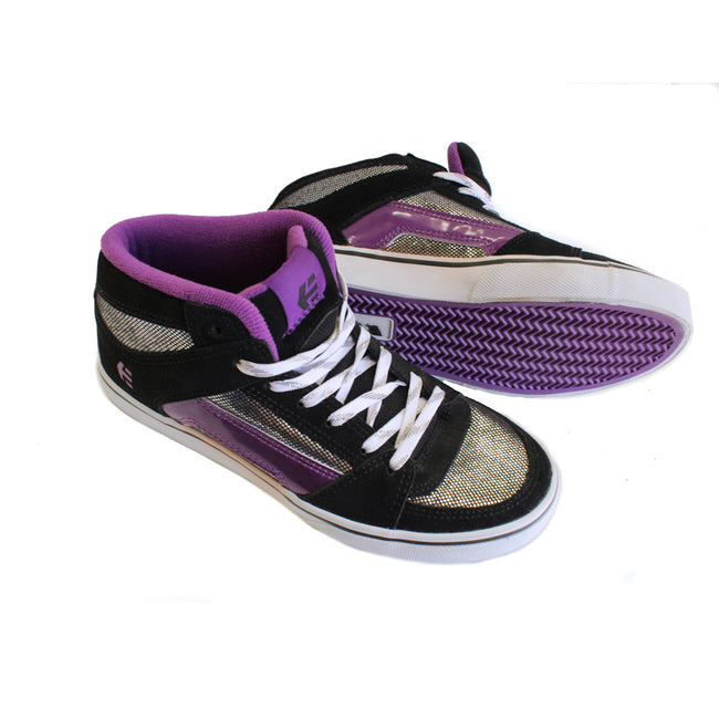 Etnies Kids Girl Shoes Black Purple