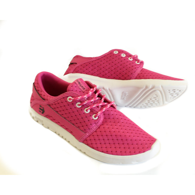 Etnies Kids Girls Mesh Shoes Pink