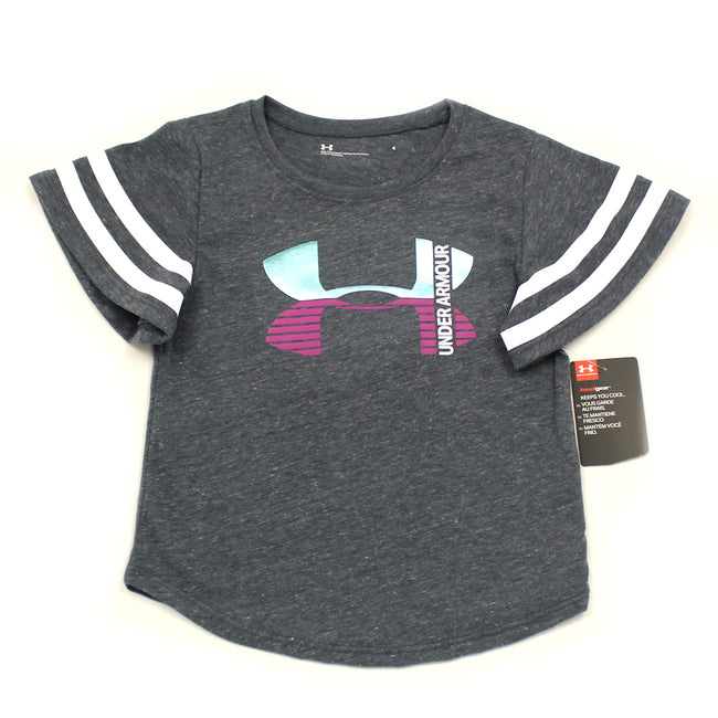 Under Armour Kids Little Girl Bell Sleeve Tee Shirt