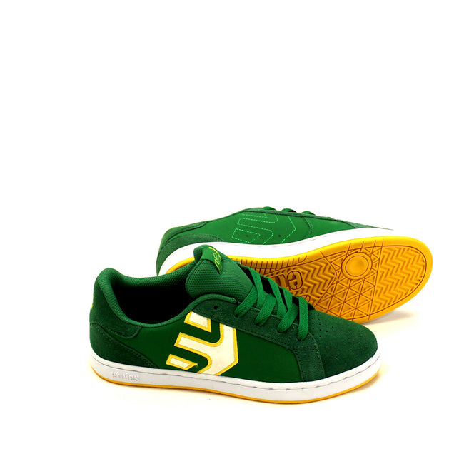 Etnies Boys Athletic Shoes Green Yellow