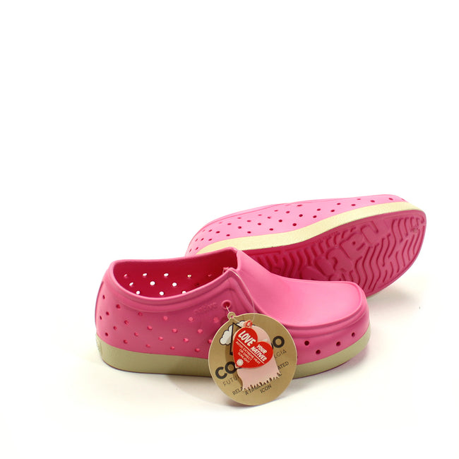 Native Kids Girls Shoes Pink