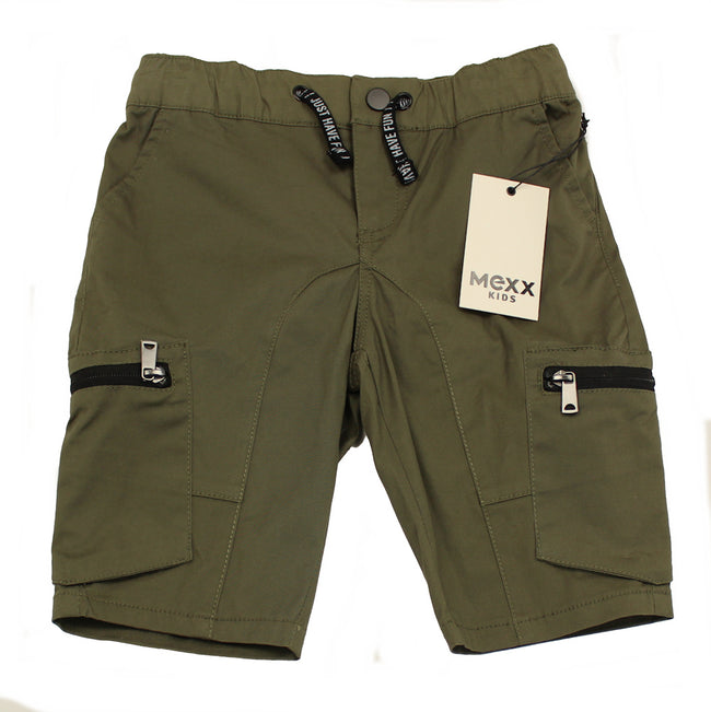 MEXX Kids Little Boy Khaki Cargo Shorts