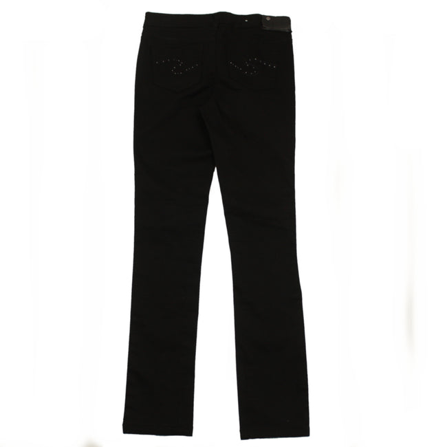 Silver Jeans Girls Black Jean Jeggings