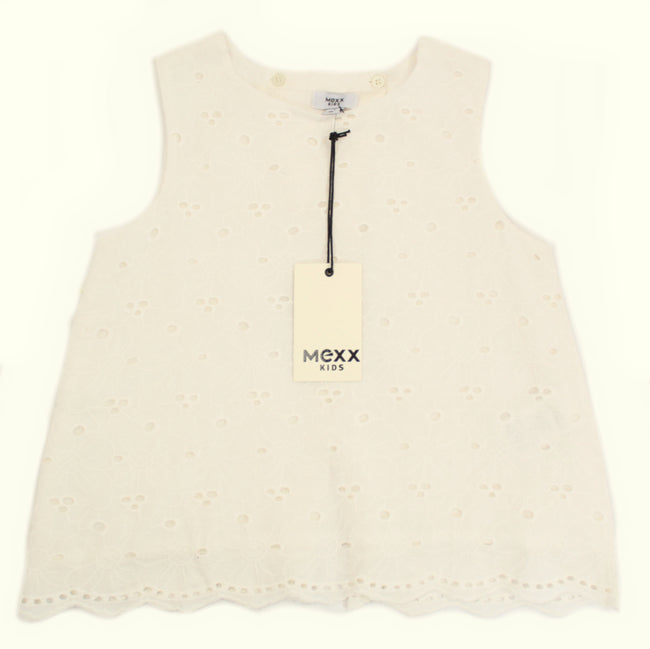 MEXX Big Girl Sleeveless Eyelet Top