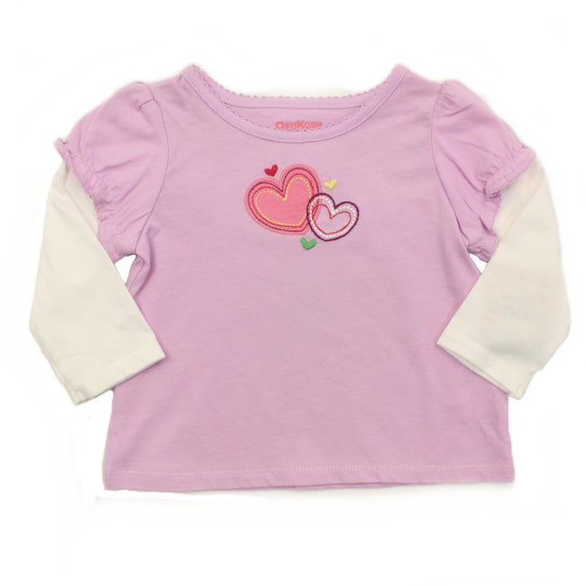 Baby Girl Long Sleeve Tee