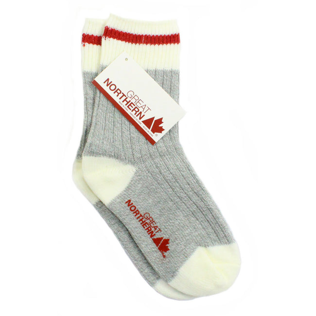 Great Northern Kids Cabin Crew Socks Red