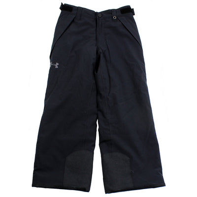 UNDER ARMOUR Kids Youth Boys Black Winter Insulated Pants Grow System