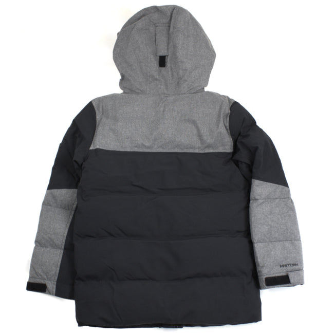 UNDER ARMOUR KIDS UA Youth Boys Superthaw Winter Jacket Black Grey