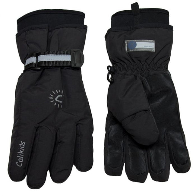 Calikids Kids Winter Neoprene Cuff Glove Black