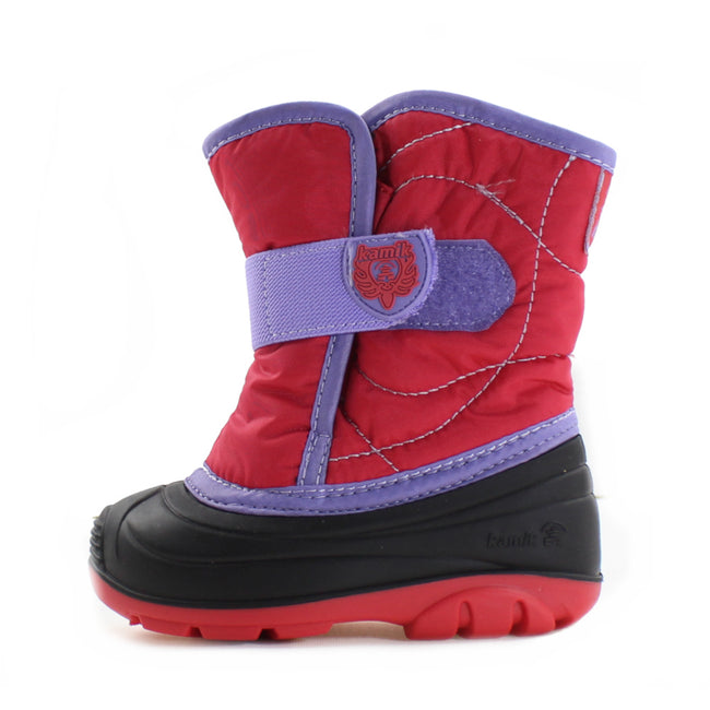 Kamik Kids Girls Snow Boot Snowbug -23
