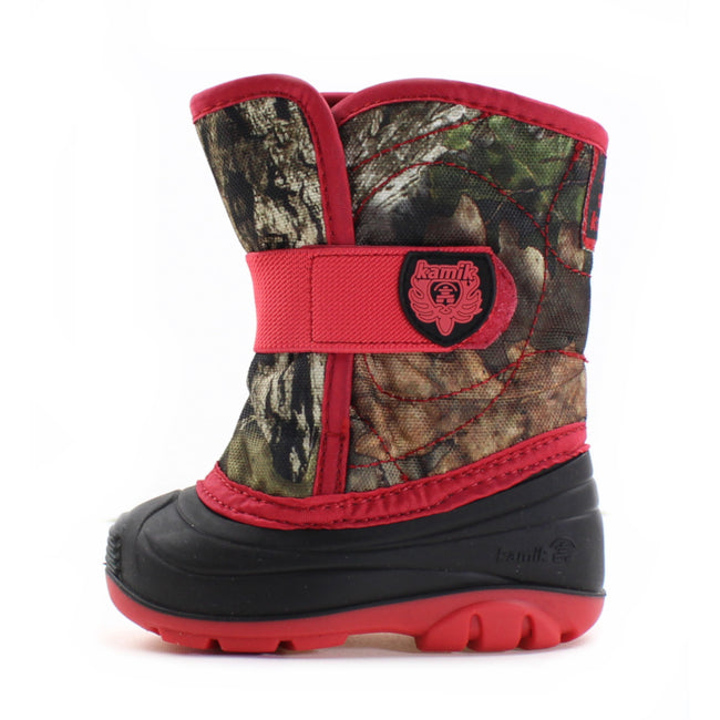 Kamik Little Girls Camo Snowbug Winter Boot -23