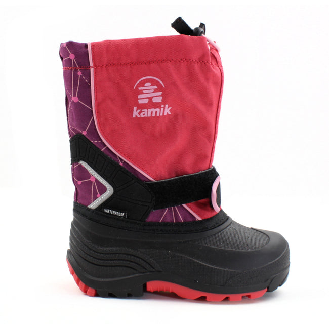 Kamik Kids Girls Winter Snow Boot Rose -40C