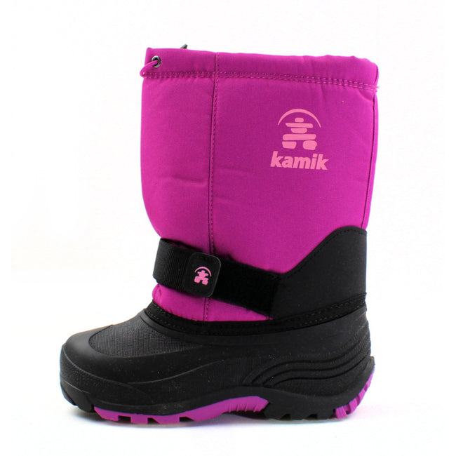 Kamik Kids Girls Rocket Winter Snow Boots