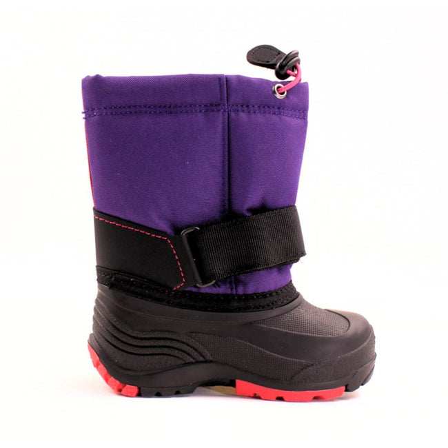 Kamik Kids Girls Winter Snow Boots Purple