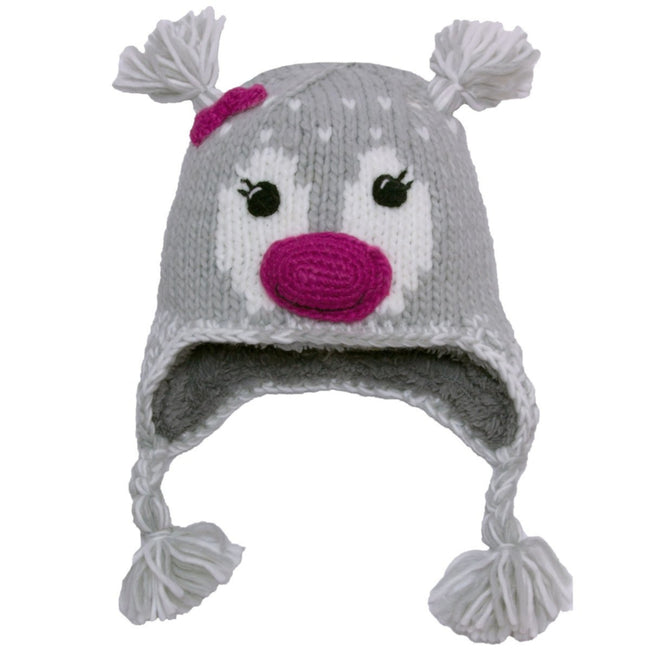 CALIKIDS Baby Girls Animal Face Girls Hat Toque