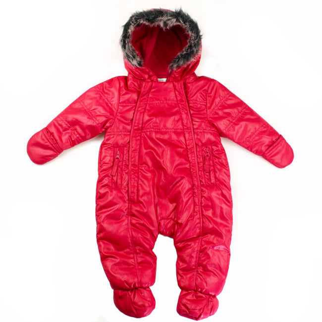 Noppies Baby Girl Pram Snow Suit Pink