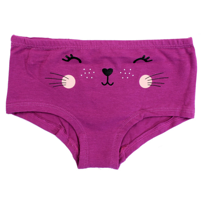 NASS Lingerie for Little Girls Hipster Panties - Fushia