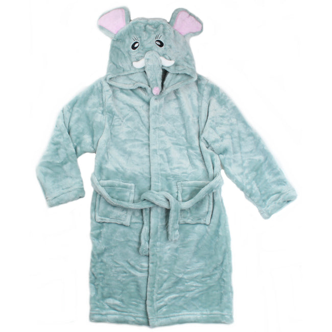 Little Kids Elephant Bathrobe