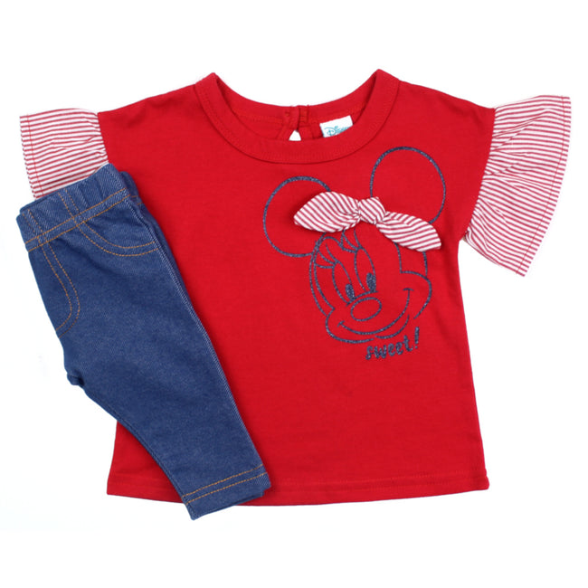 DISNEY Baby Girl Minnie Leggings Set