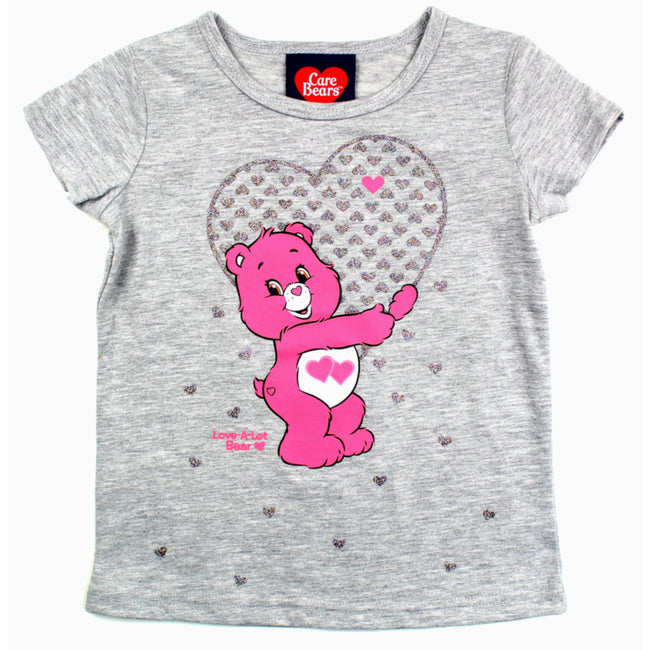 Care Bear Love A Lot Little Girl Top