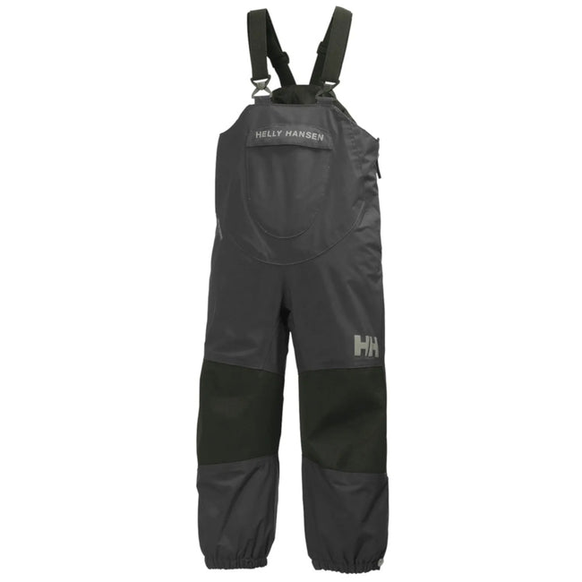 HELLY HANSEN KIDS - Bibbed Black Shelter Pants