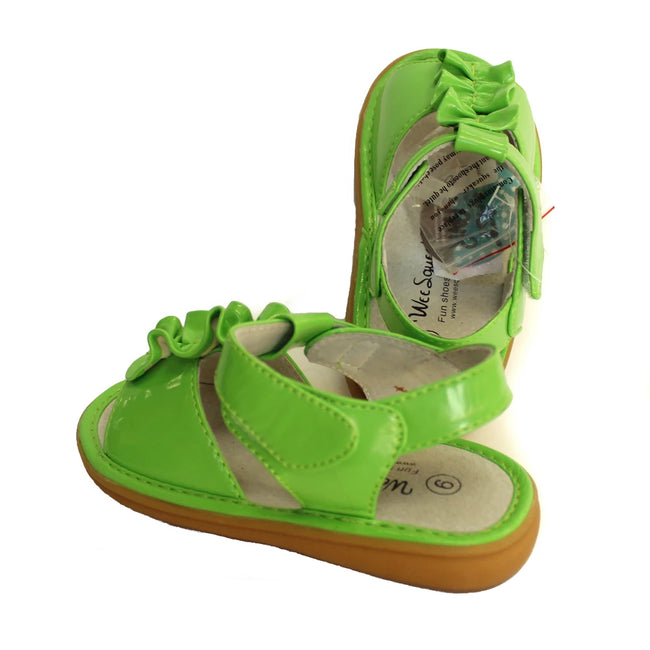 Wee Squeak Toddler Girl Sandals Green
