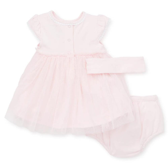 LITTLE ME Baby Girl Pink Tulle Dress