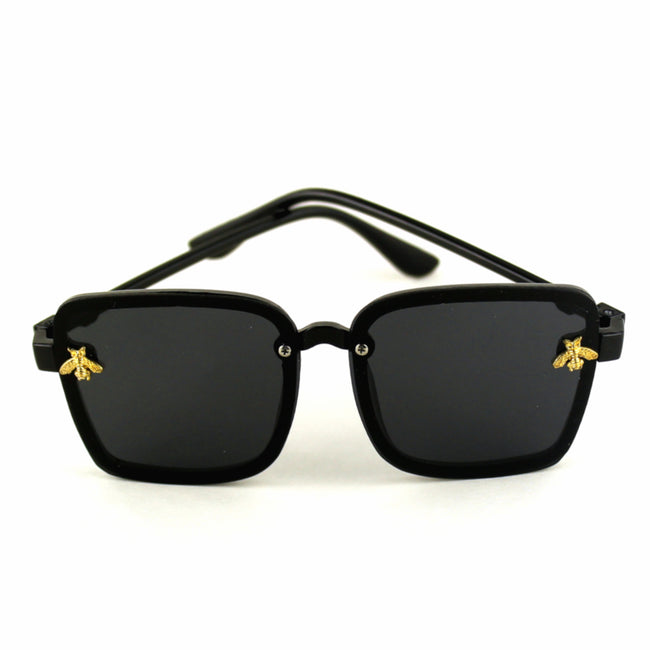 Girls Queen Bee Oversize Square Sunglasses