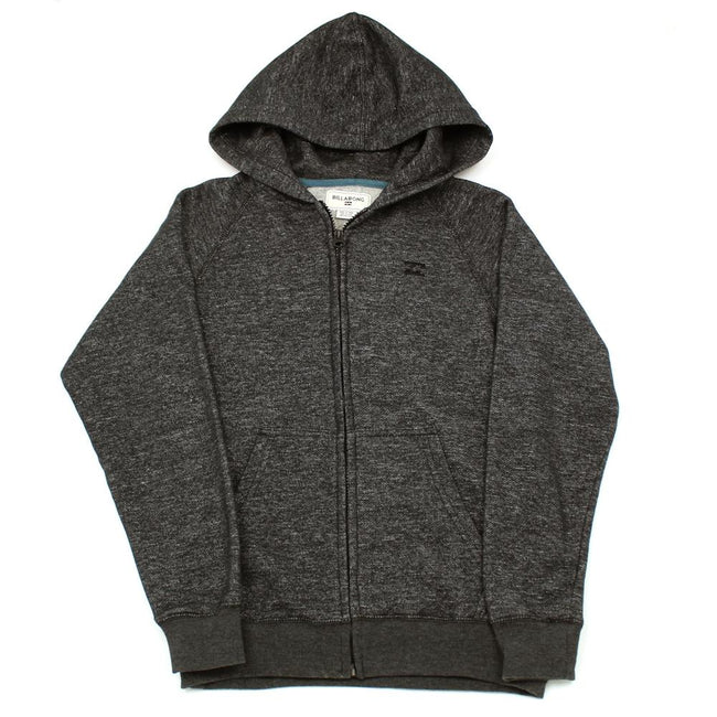 Billabong Kids Boys Black Zippered Hoodie