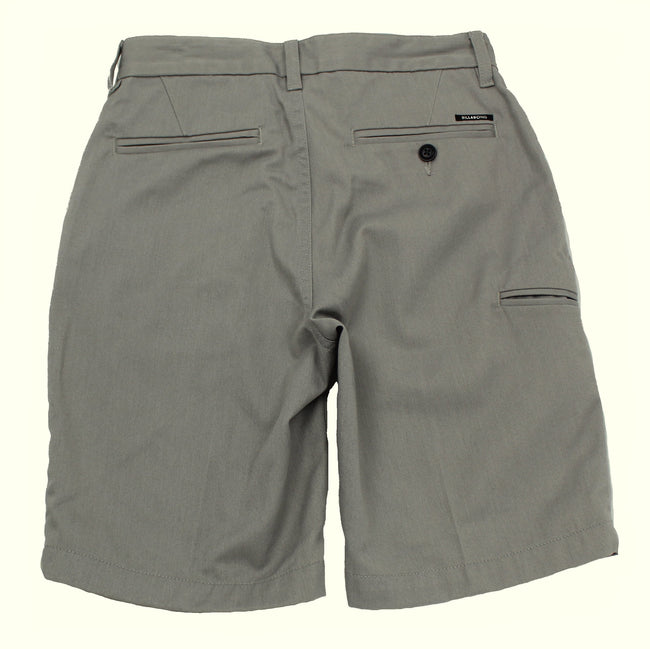 Billaong Big Boys Grey Carter Shorts