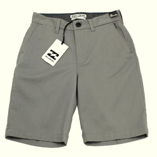 Billabong Kids Boys Grey Carter Shorts
