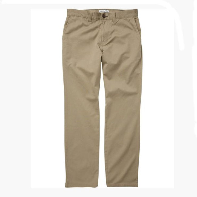 Billabong Boys Carter stretch Chino Pants Tan